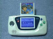 Game Gear japonesa con adaptador Mark III